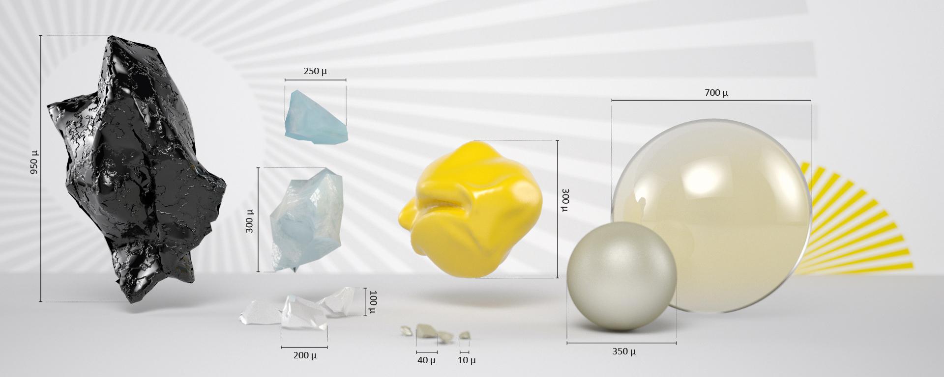 Form, Größe, Härte und Material sind wesentlich für ein perfektes Ergebnis!